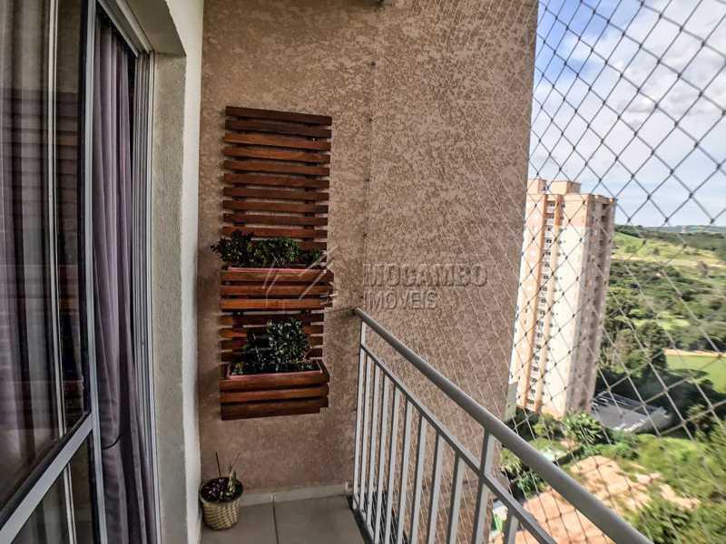 Vista da Sacada. - Apartamento 2 quartos à venda Itatiba,SP - R$ 240.000 - FCAP21064 - 6