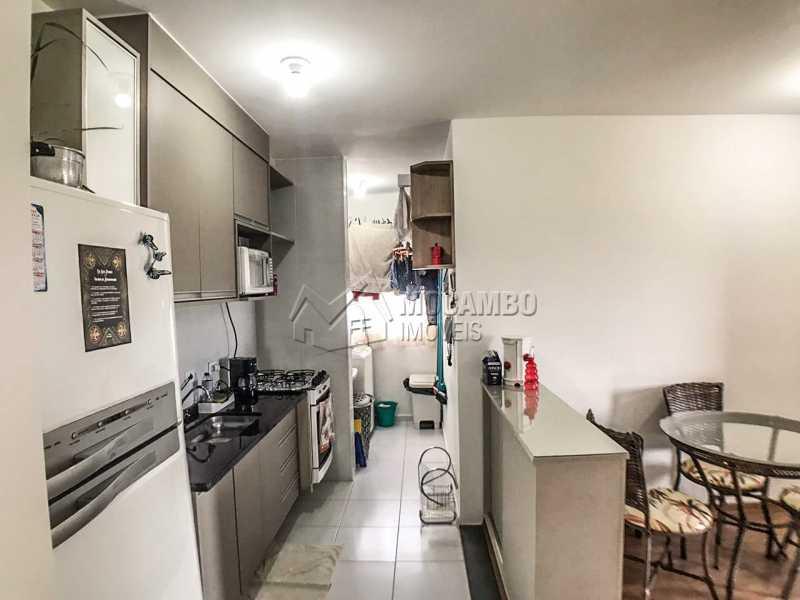 Cozinha. - Apartamento 2 quartos à venda Itatiba,SP - R$ 240.000 - FCAP21064 - 4