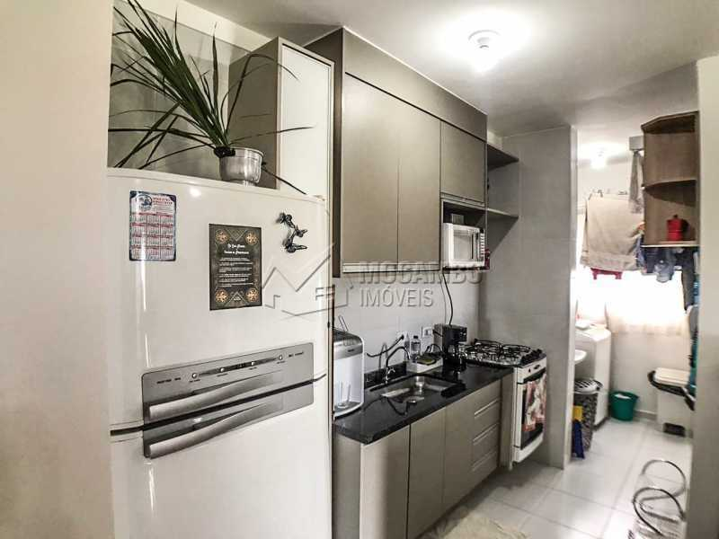 Cozinha. - Apartamento 2 quartos à venda Itatiba,SP - R$ 240.000 - FCAP21064 - 5