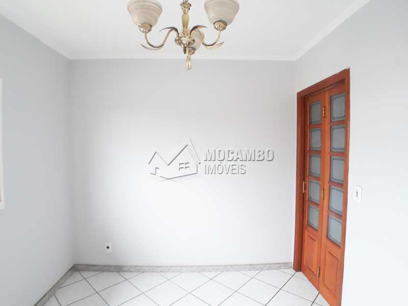 Sala de jantar - Apartamento Residencial Beija-Flor - Condomínio A , Itatiba, Residencial Beija Flor, SP Para Alugar, 2 Quartos, 55m² - FCAP21066 - 4