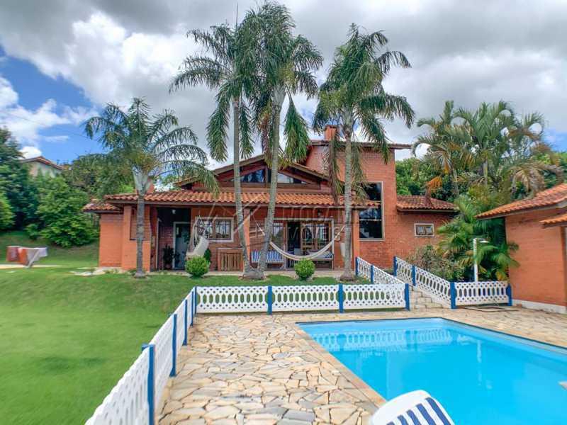 Área externa - Casa em Condomínio 5 Quartos À Venda Itatiba,SP - R$ 798.000 - FCCN50038 - 1