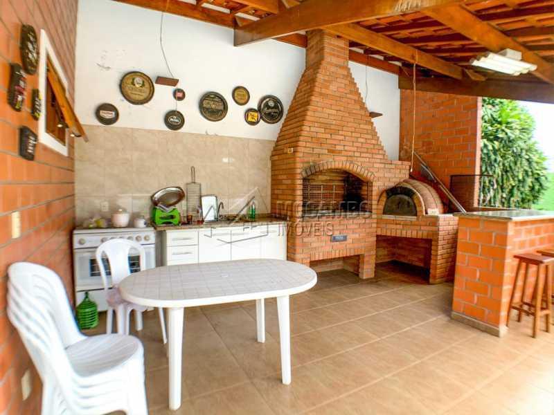 Espaço Gourmet - Casa em Condomínio 5 Quartos À Venda Itatiba,SP - R$ 798.000 - FCCN50038 - 10