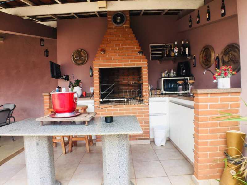 Churrasqueira - Casa 3 quartos à venda Itatiba,SP - R$ 700.000 - FCCA31312 - 1