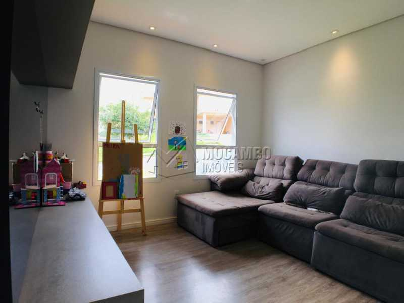 Sala de tv - Casa em Condomínio 3 quartos à venda Itatiba,SP - R$ 1.300.000 - FCCN30446 - 6