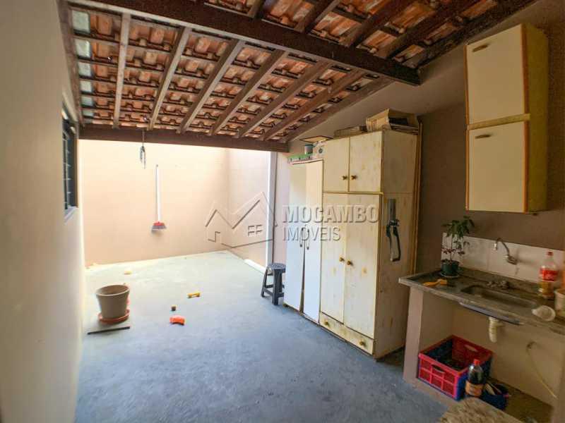 Quintal - Casa 3 Quartos À Venda Itatiba,SP - R$ 350.000 - FCCA31305 - 24