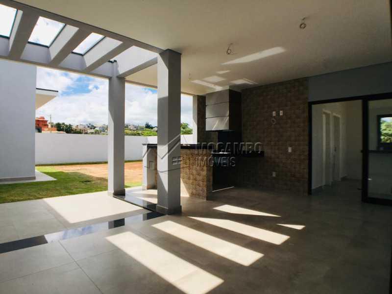 Área gourmet - Casa em Condomínio 3 quartos à venda Itatiba,SP - R$ 1.170.000 - FCCN30449 - 24