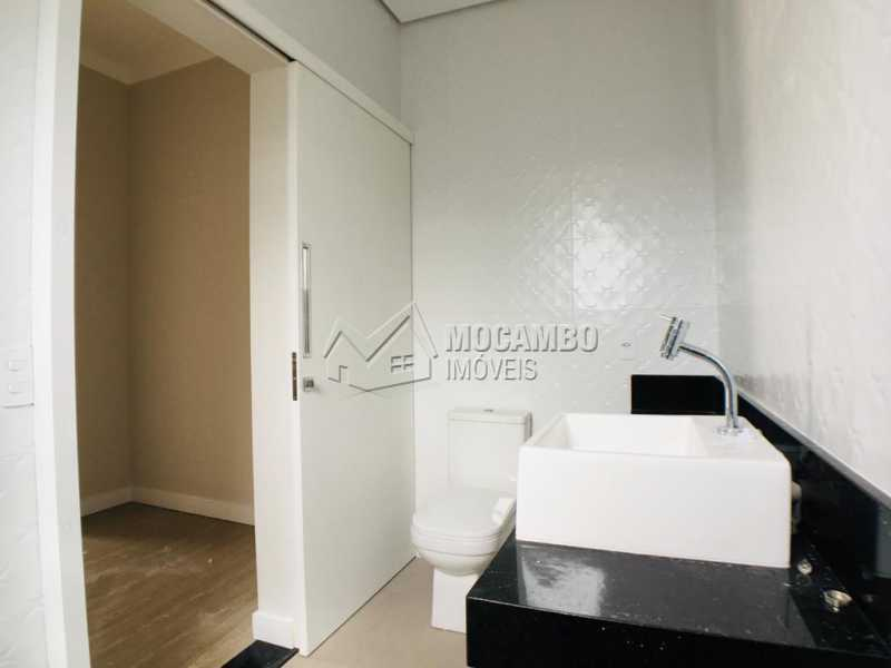 Banheiro suíte - Casa em Condomínio 3 quartos à venda Itatiba,SP - R$ 1.170.000 - FCCN30449 - 18