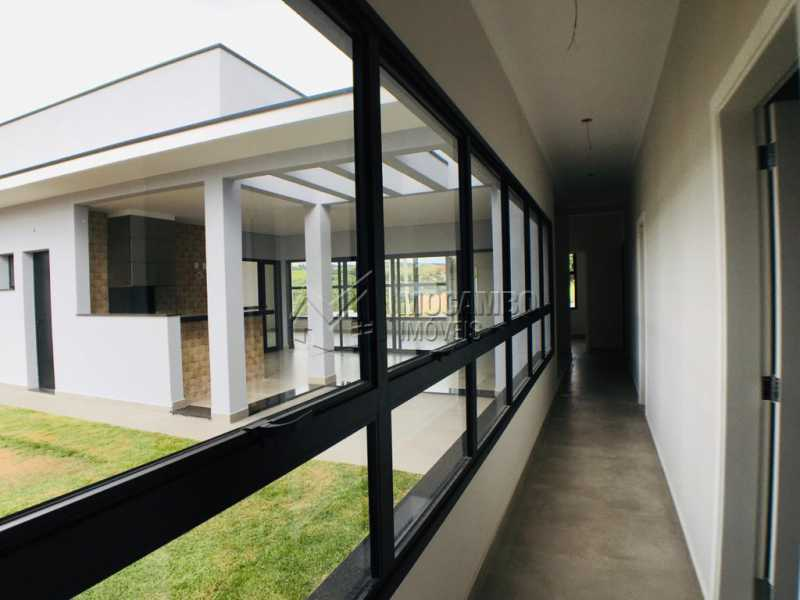 Corredor - Casa em Condomínio 3 quartos à venda Itatiba,SP - R$ 1.500.000 - FCCN30449 - 22