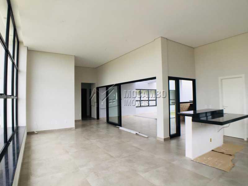 Sala - Casa em Condomínio 3 quartos à venda Itatiba,SP - R$ 1.170.000 - FCCN30449 - 10