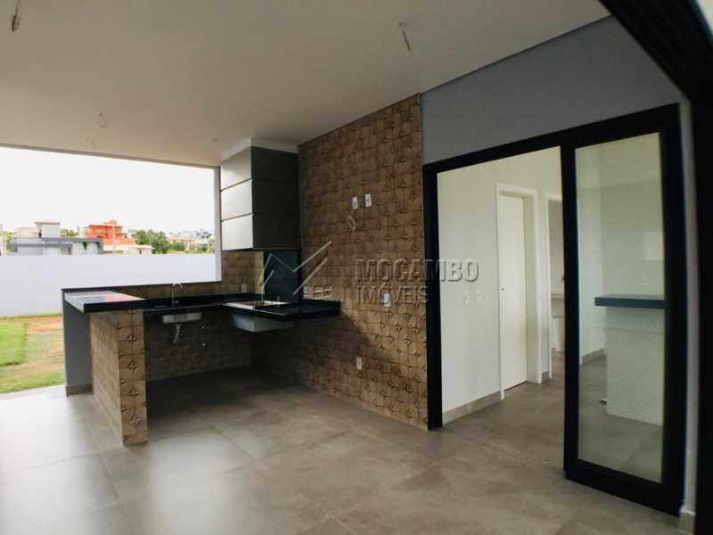 Área gourmet - Casa em Condomínio 3 quartos à venda Itatiba,SP - R$ 1.170.000 - FCCN30449 - 26