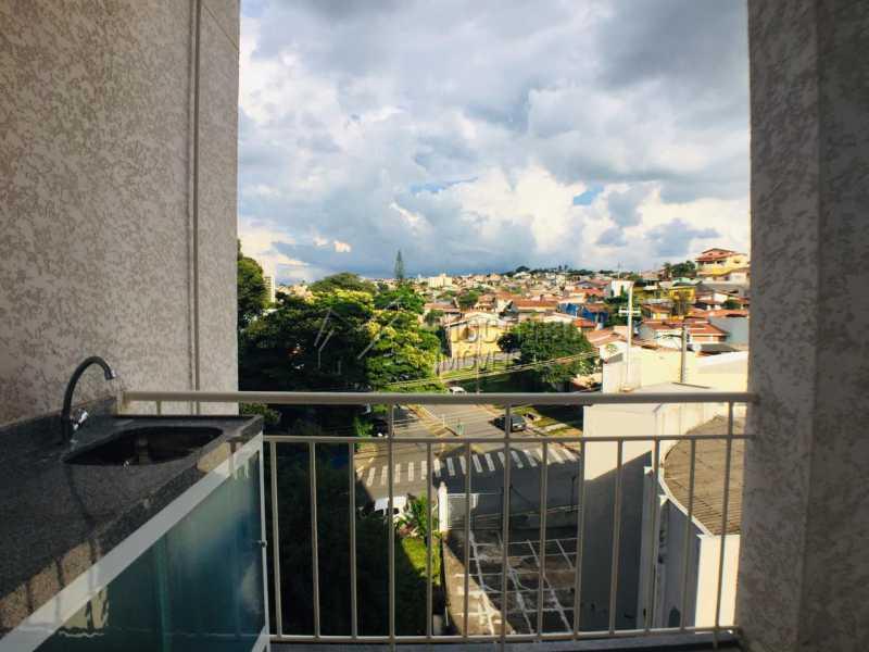 Varanda - Apartamento 2 quartos à venda Itatiba,SP - R$ 233.000 - FCAP21067 - 8