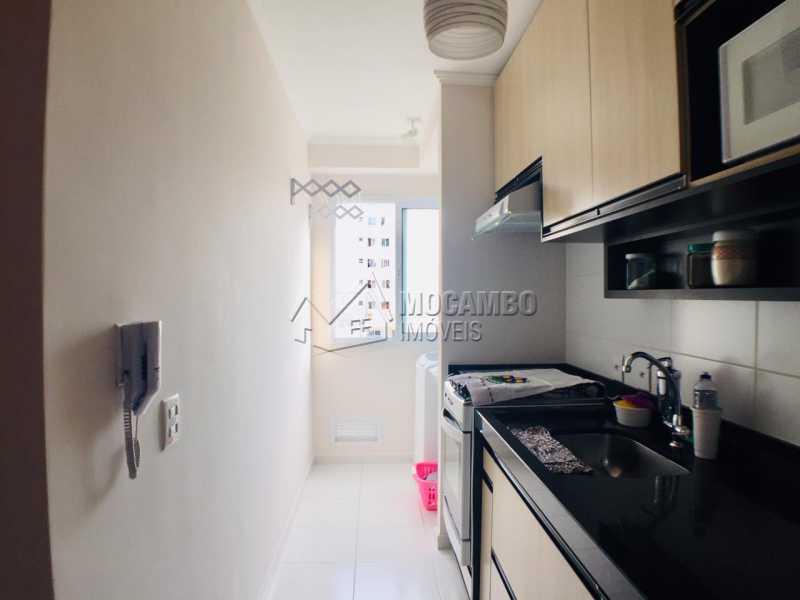 Cozinha - Apartamento 2 quartos à venda Itatiba,SP - R$ 233.000 - FCAP21067 - 3