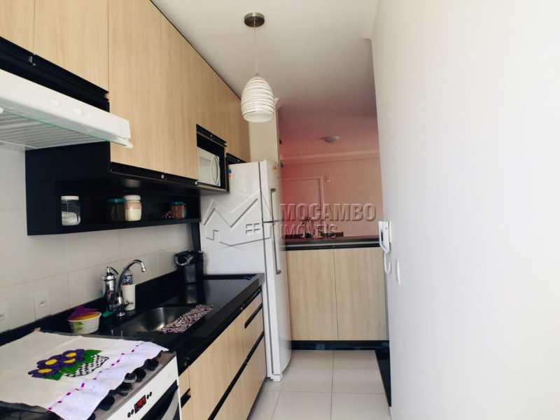 Cozinha - Apartamento 2 quartos à venda Itatiba,SP - R$ 233.000 - FCAP21067 - 1