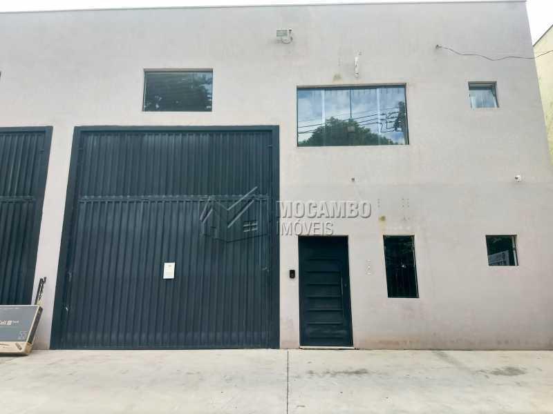 Fachada - Galpão 230m² Para Alugar Itatiba,SP - R$ 3.900 - FCGA00173 - 1