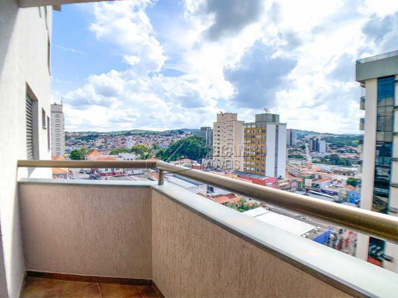 Varanda/ Vista - Apartamento 3 quartos à venda Itatiba,SP - R$ 438.000 - FCAP30544 - 8