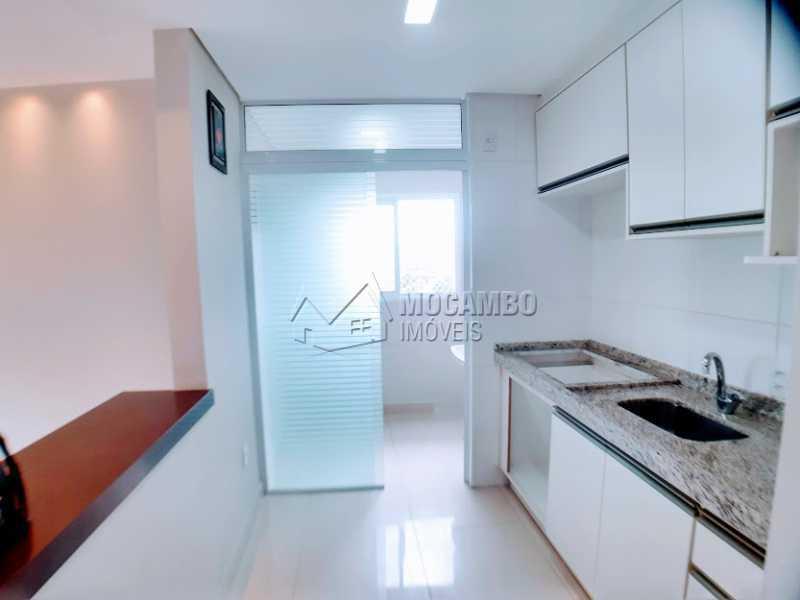 Cozinha  - Apartamento à venda Itatiba,SP - R$ 470.000 - FCAP00055 - 3