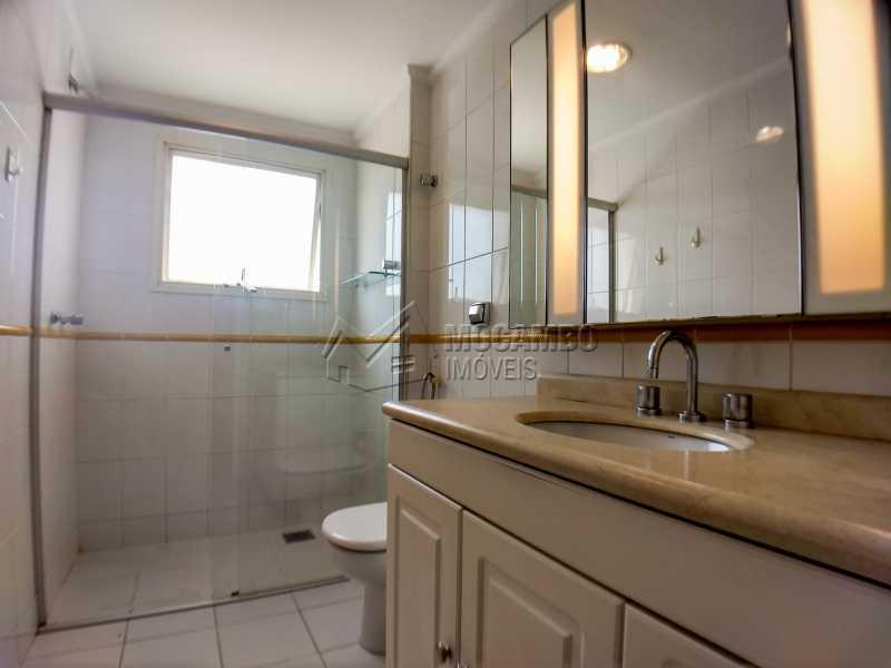 Banheiro Social - Apartamento 3 Quartos Para Alugar Itatiba,SP - R$ 1.800 - FCAP30546 - 12