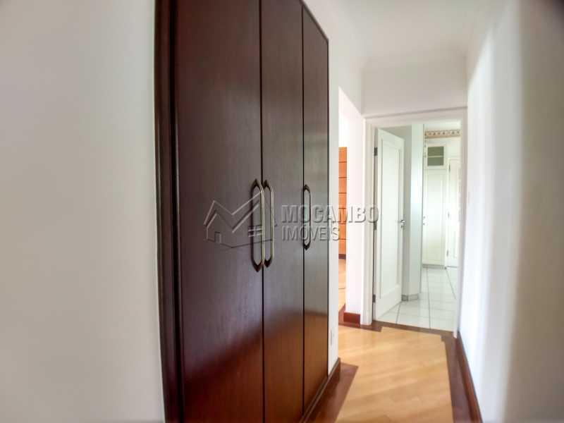 Corredor de Acesso aos Quartos - Apartamento 3 Quartos Para Alugar Itatiba,SP - R$ 1.800 - FCAP30546 - 6