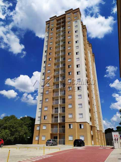 Fachada - Apartamento Condomínio Edifício Mirante de Itatiba II, Itatiba, Loteamento Santo Antônio, SP Para Alugar, 2 Quartos, 45m² - FCAP21073 - 7