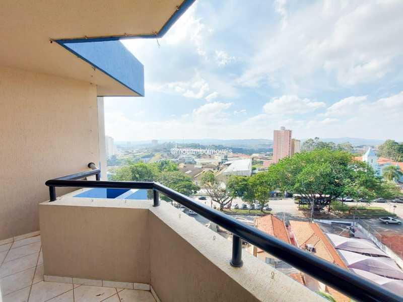 Varanda - Apartamento 3 quartos à venda Itatiba,SP - R$ 379.000 - FCAP30547 - 10