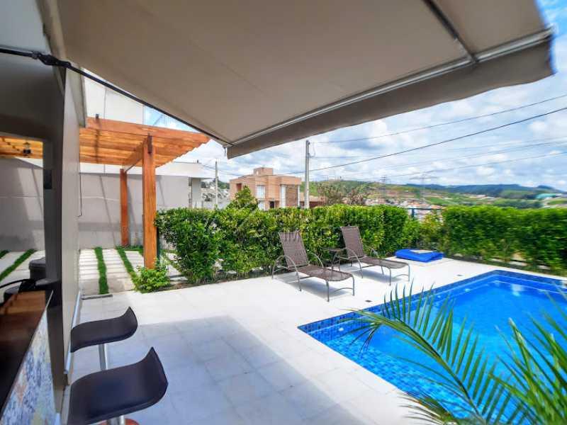 Piscina  - Casa em Condomínio 3 quartos à venda Itatiba,SP - R$ 950.000 - FCCN30451 - 1