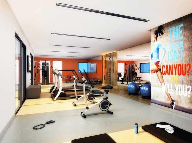 Sala Fitness Finezzi Residence - Apartamento Condomínio Finezzi Residence, Itatiba, Nova Itatiba, SP Para Alugar, 2 Quartos, 60m² - FCAP21078 - 16