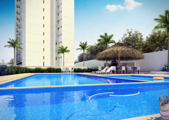 Piscina Finezzi Residence - Apartamento Condomínio Finezzi Residence, Itatiba, Nova Itatiba, SP Para Alugar, 2 Quartos, 60m² - FCAP21078 - 18