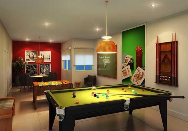 Sala de jogos Finezzi Residenc - Apartamento Condomínio Finezzi Residence, Itatiba, Nova Itatiba, SP Para Alugar, 2 Quartos, 60m² - FCAP21078 - 21