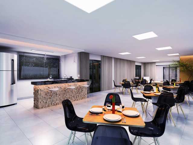 Salao de festas Finezzi Reside - Apartamento Condomínio Finezzi Residence, Itatiba, Nova Itatiba, SP Para Alugar, 2 Quartos, 60m² - FCAP21078 - 22