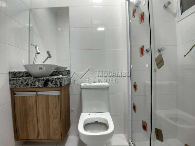 Banheiro Suíte - Apartamento Condomínio Finezzi Residence, Itatiba, Nova Itatiba, SP Para Alugar, 2 Quartos, 60m² - FCAP21078 - 7