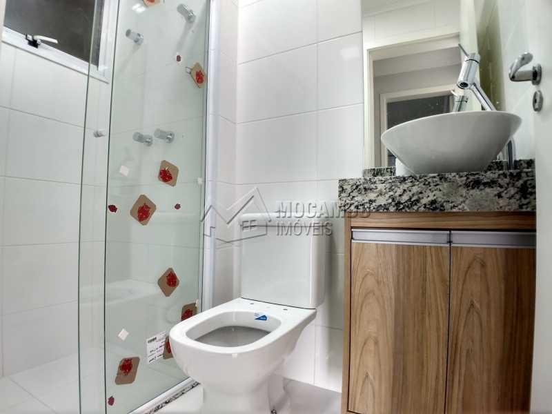 Banheiro Social - Apartamento Condomínio Finezzi Residence, Itatiba, Nova Itatiba, SP Para Alugar, 2 Quartos, 60m² - FCAP21078 - 10