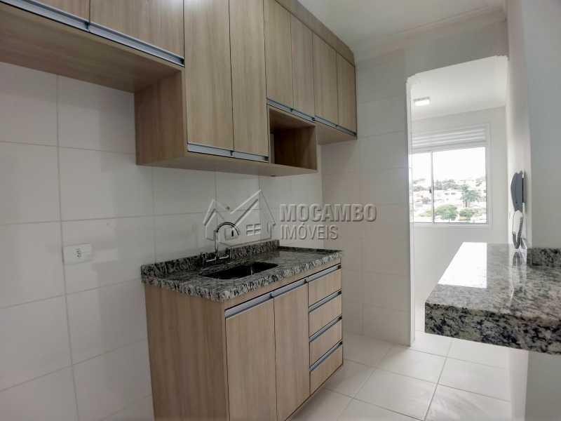 Cozinha - Apartamento Condomínio Finezzi Residence, Itatiba, Nova Itatiba, SP Para Alugar, 2 Quartos, 60m² - FCAP21078 - 5
