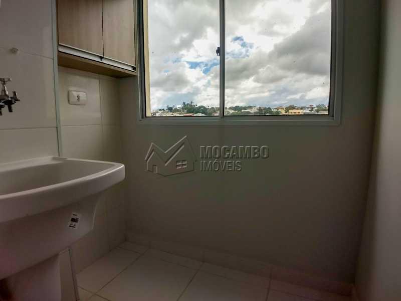 Área de Serviço - Apartamento Condomínio Finezzi Residence, Itatiba, Nova Itatiba, SP Para Alugar, 2 Quartos, 60m² - FCAP21078 - 11