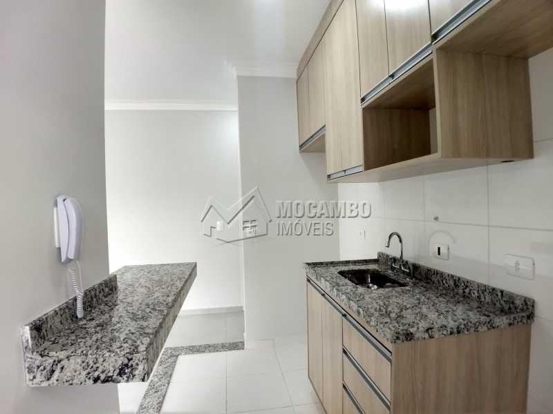 Cozinha - Apartamento Condomínio Finezzi Residence, Itatiba, Nova Itatiba, SP Para Alugar, 2 Quartos, 60m² - FCAP21078 - 4