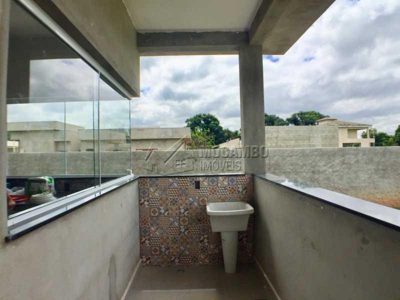 Área de serviço - Casa em Condomínio 3 Quartos À Venda Itatiba,SP - R$ 498.000 - FCCN30453 - 7