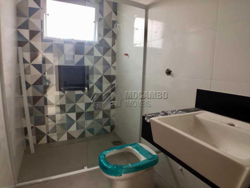 Banheiro  - Casa em Condomínio 3 Quartos À Venda Itatiba,SP - R$ 498.000 - FCCN30453 - 6