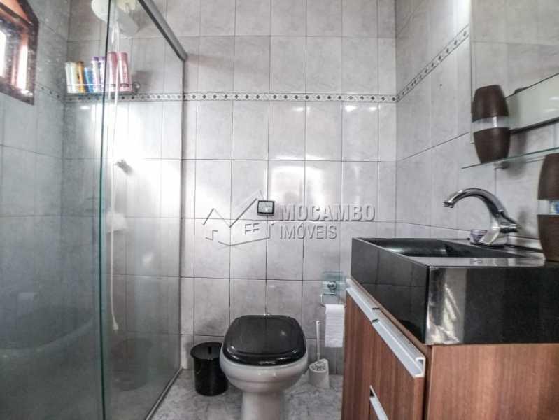 Banheiro da Suíte - Casa Itatiba, Jardim Salessi, SP À Venda, 3 Quartos, 140m² - FCCA31325 - 12