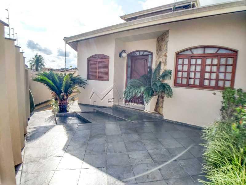 Frente da casa - Casa Itatiba, Jardim Salessi, SP À Venda, 3 Quartos, 140m² - FCCA31325 - 1
