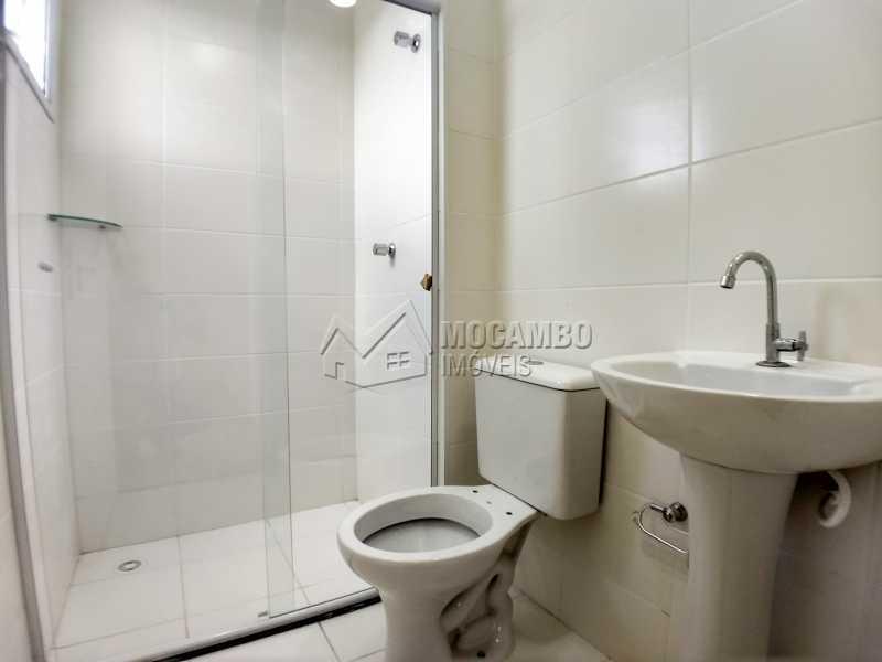 Suíte - Apartamento Condomínio Edifício Mirante de Itatiba II, Itatiba, Loteamento Santo Antônio, SP Para Alugar, 2 Quartos, 55m² - FCAP21079 - 8