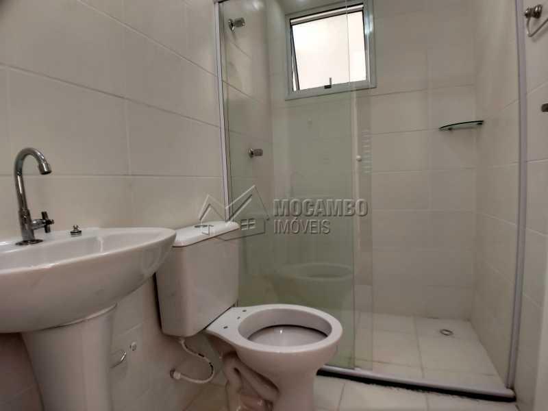 Banheiro Suíte - Apartamento Condomínio Edifício Mirante de Itatiba II, Itatiba, Loteamento Santo Antônio, SP Para Alugar, 2 Quartos, 55m² - FCAP21079 - 6