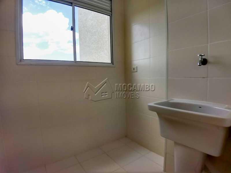 Área de Serviço - Apartamento Condomínio Edifício Mirante de Itatiba II, Itatiba, Loteamento Santo Antônio, SP Para Alugar, 2 Quartos, 55m² - FCAP21079 - 9