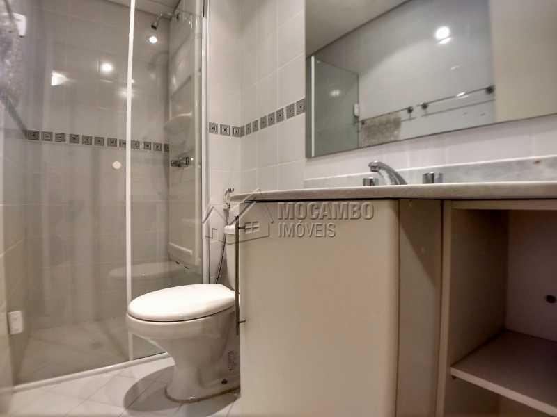 Banheiro Suíte - Apartamento 1 quarto para alugar Itatiba,SP - R$ 1.000 - FCAP10090 - 7