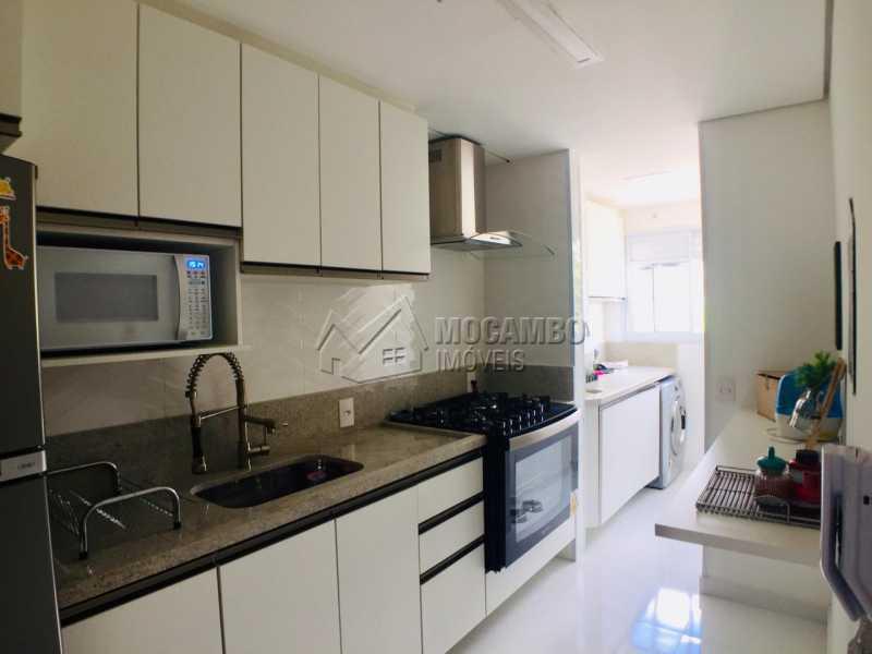 Cozinha - Apartamento 2 quartos à venda Itatiba,SP - R$ 250.000 - FCAP21080 - 3