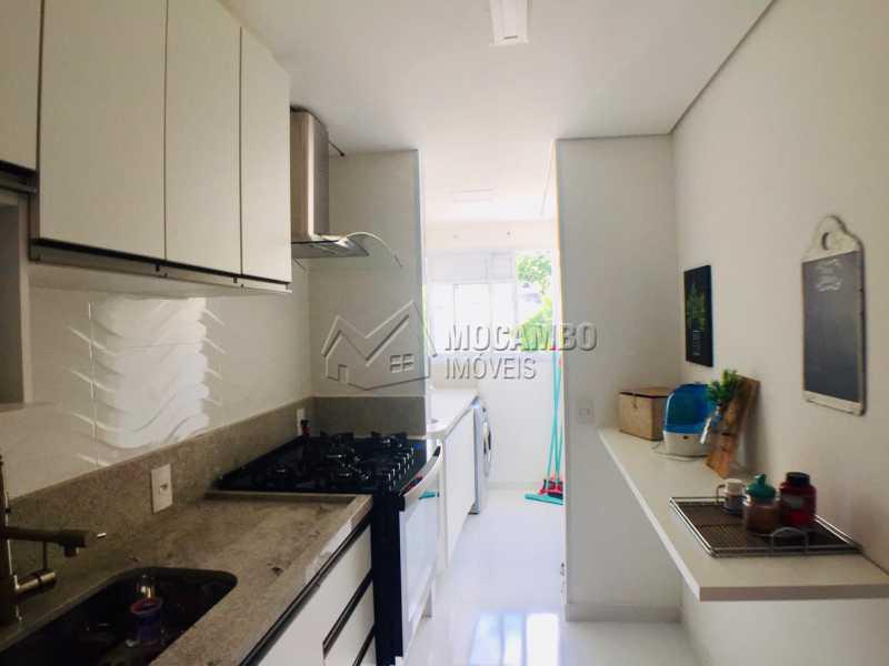 Cozinha - Apartamento 2 quartos à venda Itatiba,SP - R$ 250.000 - FCAP21080 - 4