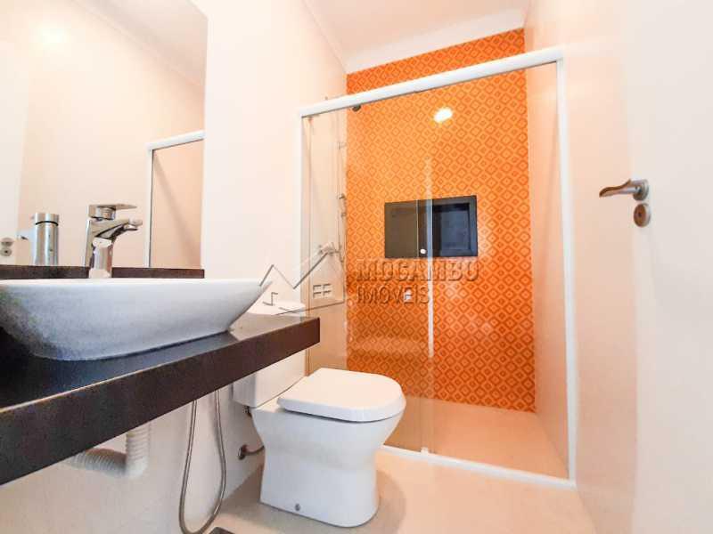 Banheiro piso superior. - Casa em Condomínio 3 quartos à venda Itatiba,SP - R$ 1.099.000 - FCCN30455 - 15
