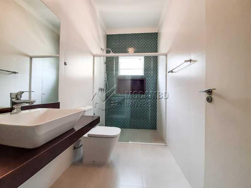 Banheiro social. - Casa em Condomínio 3 quartos à venda Itatiba,SP - R$ 1.099.000 - FCCN30455 - 10