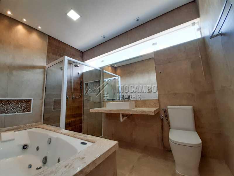 Banheiro suite. - Casa em Condomínio 3 quartos à venda Itatiba,SP - R$ 1.099.000 - FCCN30455 - 13
