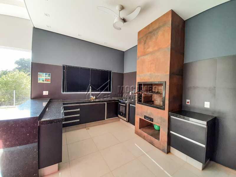 Churrasqueira. - Casa em Condomínio 3 quartos à venda Itatiba,SP - R$ 1.099.000 - FCCN30455 - 20