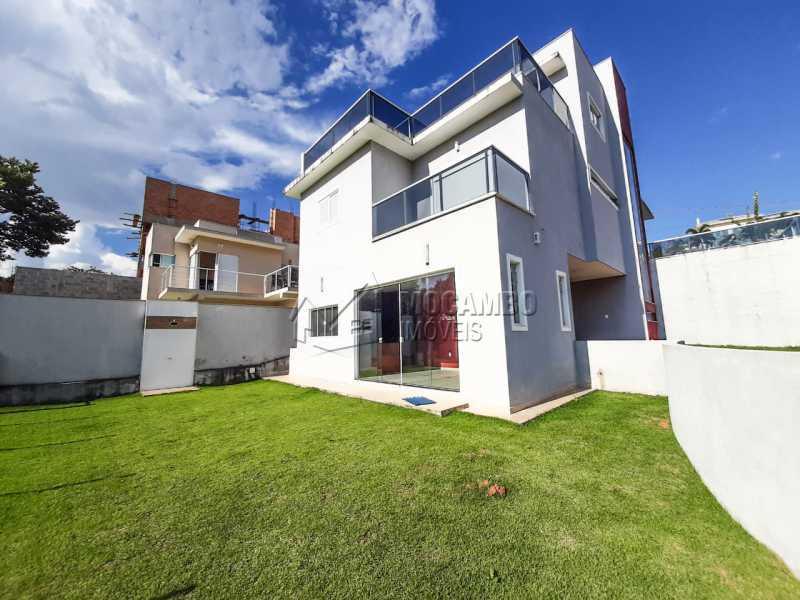 Quintal. - Casa em Condomínio 3 quartos à venda Itatiba,SP - R$ 1.099.000 - FCCN30455 - 22