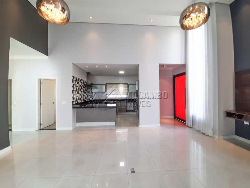 Sala - Casa em Condomínio 3 quartos à venda Itatiba,SP - R$ 1.099.000 - FCCN30455 - 5
